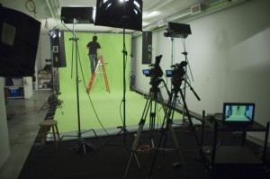 Our Green Screen Production Studio
