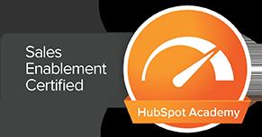 Hubspot Sales Enablement Certified