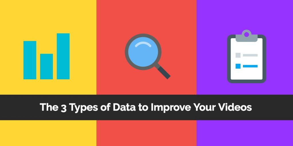 3 Types of Data for Video