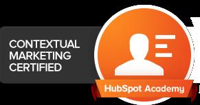 Hubspot Contextual Marketing Certified
