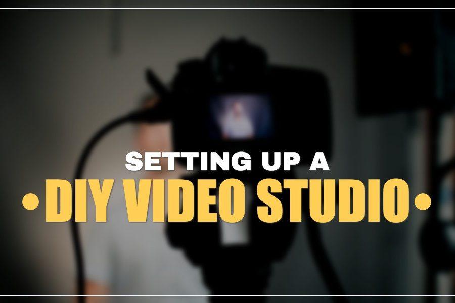 how to setup a video studio